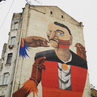 Private Guided Tour Street Art in Kyiv